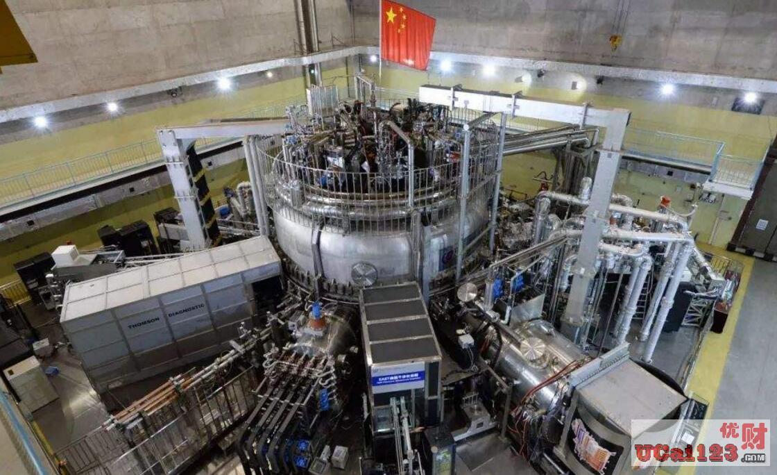 """1.6萬億美元,中國核心技術""""東方超環(EAST)""""可用1升海水轉換為300升汽油"""