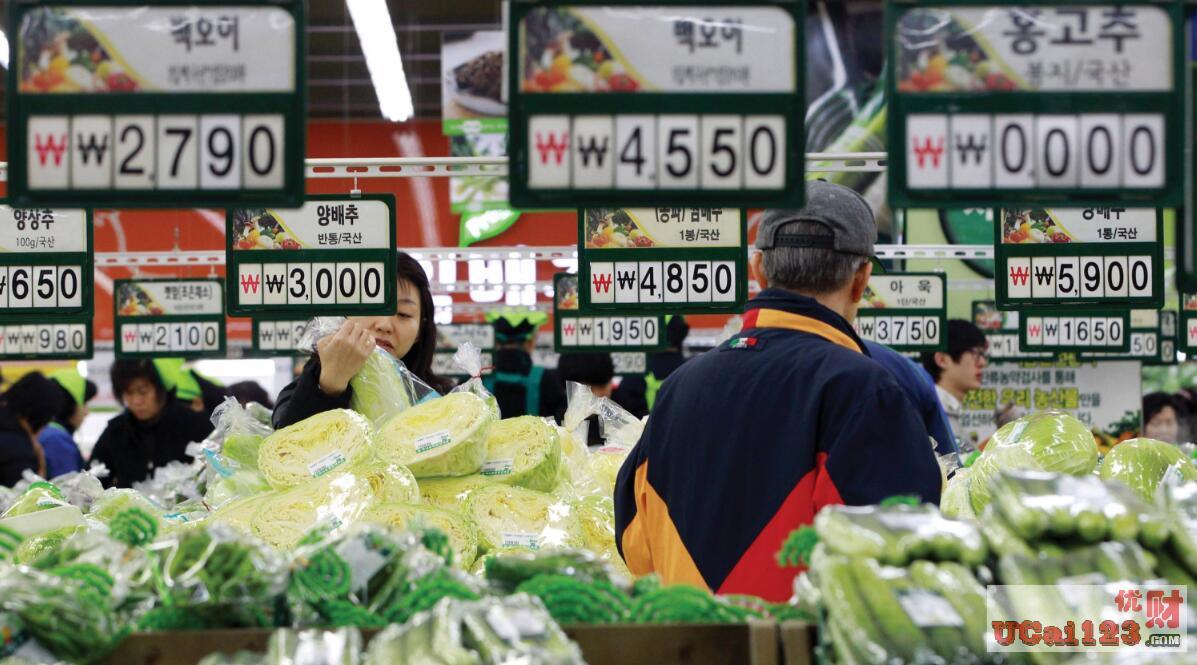 韓國經濟10月份出口總額為467.8億美元,同比下降14.7%,制造業PMI略有回升