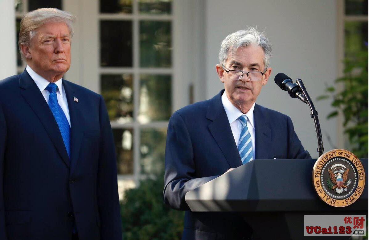 """""""貨幣政策取決于經濟數據"""",美聯儲主席鮑威爾受邀與特朗普在白宮會面"""